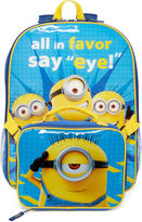 LICENSED PROPERTIES Minions Say Eye Backpack and Lunchbox