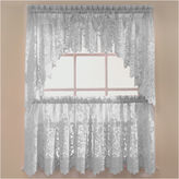 JCPenney JCP Home Collection HomeTM Shari Lace Rod-Pocket Shaped Valance