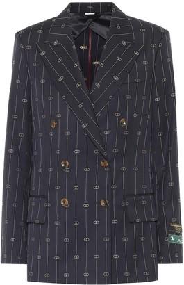 Gucci GG wool blazer
