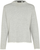 Oxford Jasmine Funnel Cllr Knit Gry/Wht X
