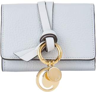Chloé Leather Alpha Mini Wallet