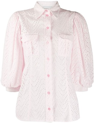 Forte Dei Marmi Couture Embroidered Blouse