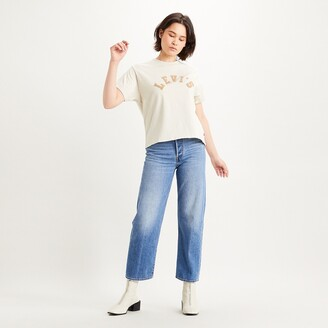 Levi's Cotton Cropped Logo T-Shirt