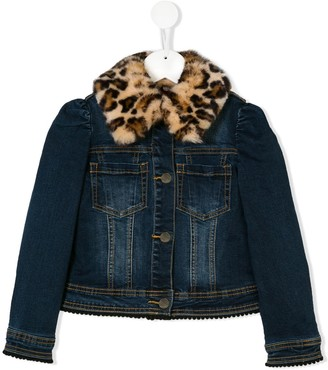 MonnaLisa Mickey denim jacket