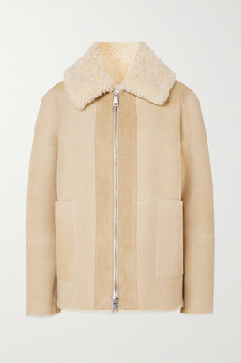 Bottega Veneta Shearling Jacket - Beige