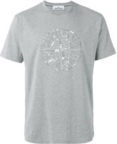 Stone Island logo print T-shirt - men - Cotton - XL