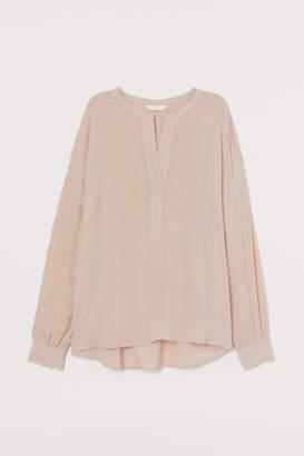H&M V-neck blouse