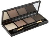 Dr. Hauschka Skin Care Eyeshadow Palette, Sand/Light Brown/Soft Gray/Anthracite, 4 Ounce