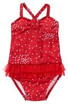 Gymboree Heart 1-Piece Swimsuit