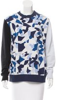 Givenchy Geometric Print Pullover Sweatshirt