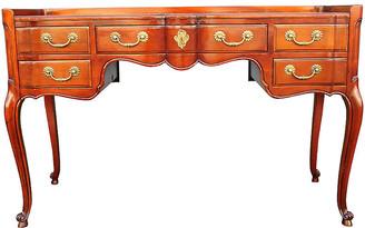 One Kings Lane Vintage Mid Century John Widdicomb Writing Desk - Something Vintage