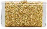 Edie Parker Lara Confetti Clutch Bag, Golden