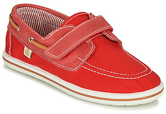 Citrouille et Compagnie GASCATO boys's Boat Shoes in Red