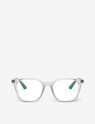 Ray-Ban RX7177 acetate square-frame glasses