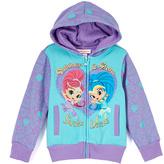 Children's Apparel Network Purple & Turquoise 'Sister Divine' Zip Hoodie - Toddler