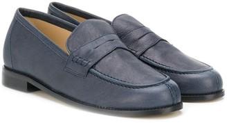 Prosperine Kids Leather Penny Loafers