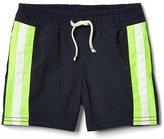 Gap Side-stripe swim trunks