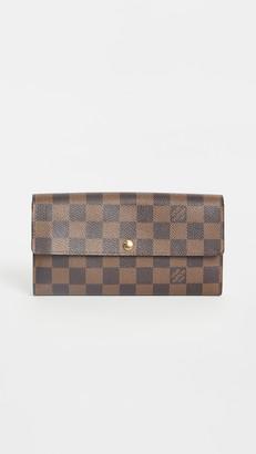 Shopbop Archive Louis Vuitton Sarah Wallet, Damier Ebene