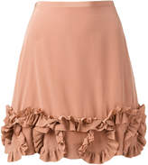 See by Chloe frill trim skirt