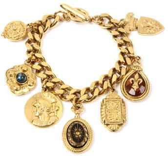 Ben-Amun Royal Queen Charm Bracelet