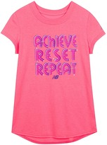 New Balance Guava Graphic Short-Sleeve Tee - Girls