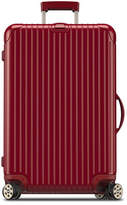 "Rimowa Salsa Deluxe Electronic Tag Red 29"" Multiwheel Luggage"