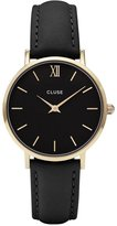 Cluse Women's Minuit CL30004 Leather Quartz Fashion Watch