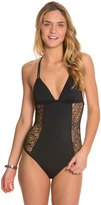 Hurley Webbed One Piece Swimsuit 8125174