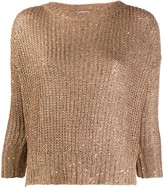 Snobby Sheep knitted embellished jumper