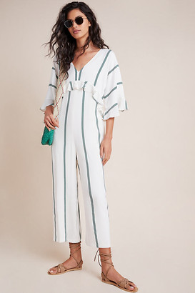 Nikki Striped Jumpsuit By Sancia in Assorted Size M