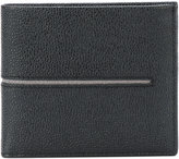 Tod's embossed billfold wallet - men - Leather - One Size