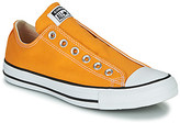 Converse Chuck Taylor All Star Slip Seasonal Color women's Slip-ons (Shoes) in Yellow