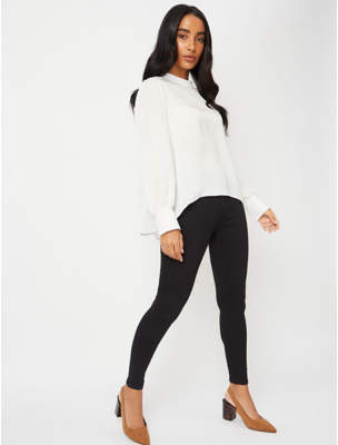 George Wonderfit Black Skinny Jeans