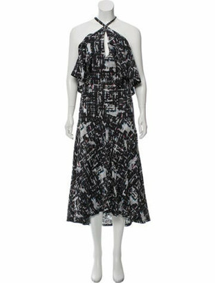 Chanel 2015 Midi Length Dress Grey