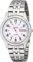 Seiko Men's SNE045 Solar Dial Watch