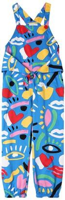 Stella McCartney Graphic Print Organic Cotton Overalls