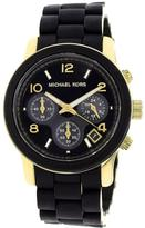 Michael Kors MK5191 Women's Classic Black Stainless Steel Watch with Chronograph