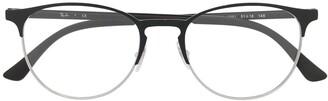 Ray-Ban Clear-Lens Wayfarer Glasses