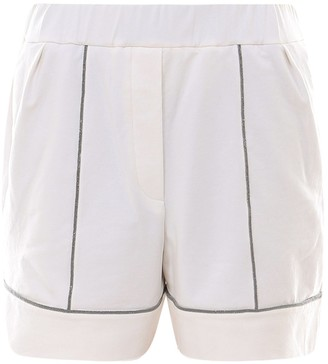 Brunello Cucinelli Bead Embellished Shorts