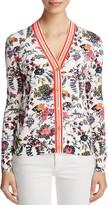 Tory Burch Noelle Floral Print Cardigan