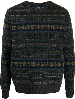 Polo Ralph Lauren Fair Isle Intarsia Knit Jumper