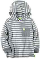 Carter's Hooded Striped Pocket Tee