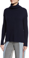 Derek Lam 10 Crosby Cashmere Turtleneck Pullover Sweater, Navy