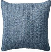 "Lauren Ralph Lauren Graydon Melange Knit 18"" Square Decorative Pillow"