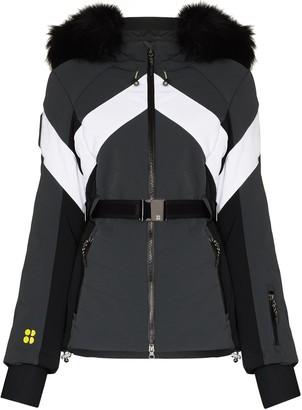 Sweaty Betty Panelled Hooded Ski Jacket