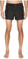 Dolce & Gabbana Solid Mid Cut Swim Shorts Men's Swimwear