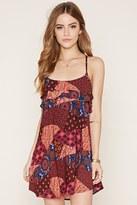 Forever 21 FOREVER 21+ Patchwork Print Cami Dress