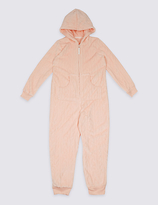 Marks and Spencer Textured Onesie (1-16 Years)