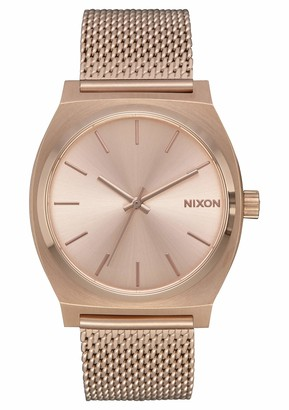Nixon Unisex Analogue Quartz Watch with Stainless Steel Strap A1187-897-00