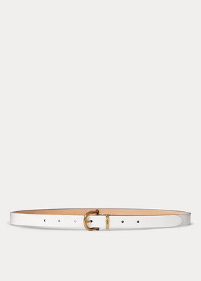 Ralph Lauren Leather Stirrup Belt